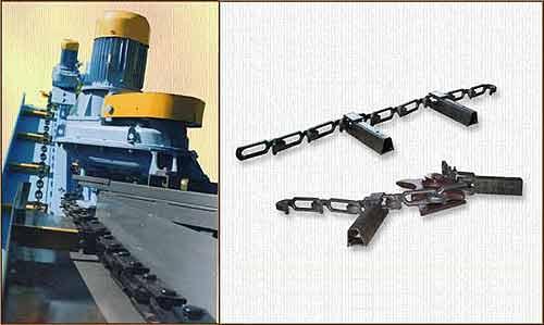 Конвейер скребковый навозоуборочный (КСГ-9)