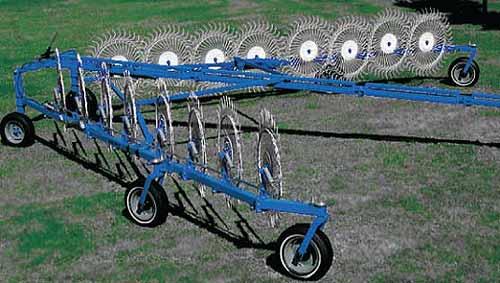 Грабли-ворошилки колесно-пальцевые (Агромаш ГКП)