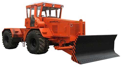 Трактор колесный (К-702М)