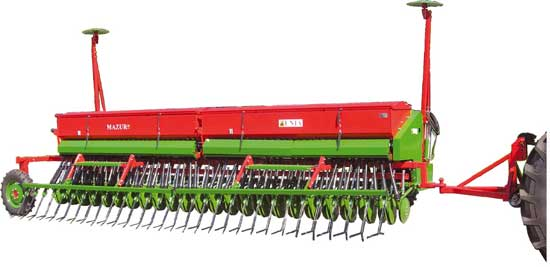 Сеялка универсальная зерновая (Mazur)