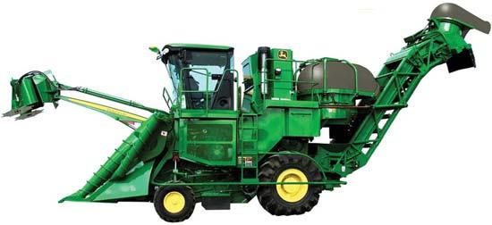 Комбайн уборки сахарного тростника (John deere 3520)