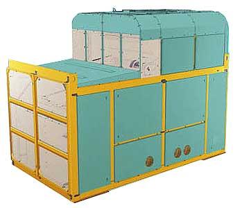 Сепаратор первичной (товарной) очистки зерна (СВТ-40)