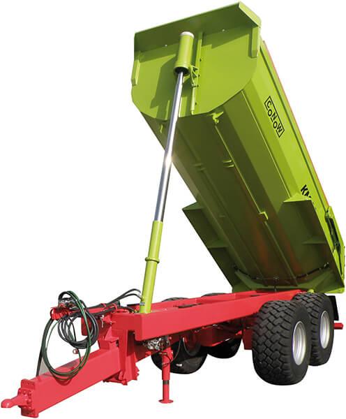 Прицеп для транспортировки строительных материалов (Conow KM 20)