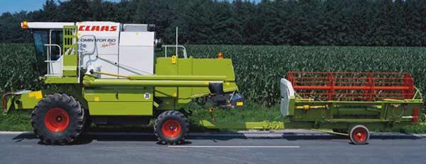 Комбайн зерноуборочный (Dominator)