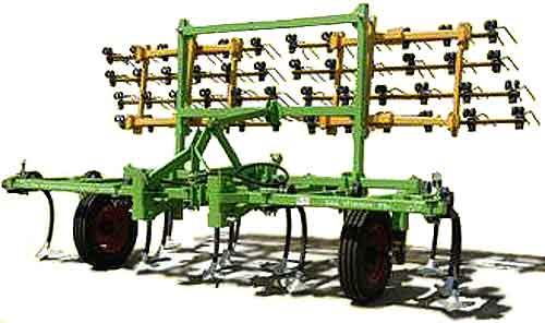 Культиватор навесной чизельный бороновальный (КНЧ-4Б)