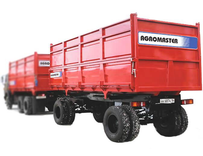 Прицеп автомобильный  (Agromaster-8612)