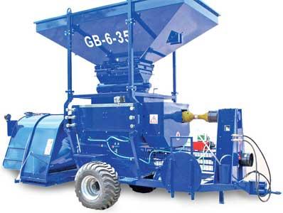 Агрегат для плющения и закладки зерновых культур (Grinder Bagger)