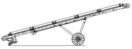 Конвейер ленточный передвижной (У13-КЛП-50М)