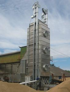 Зерносушилка мобильная (GDT)