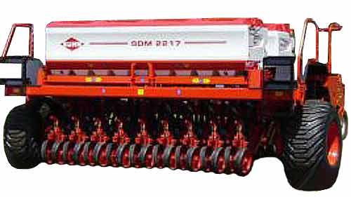 Сеялка прицепная механическая для прямого посева (Kuhn SDM)