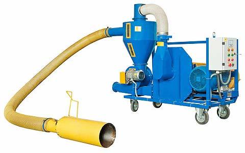 Транспортер зерна пневматический (установка пневматического транспорта) (УПТ)