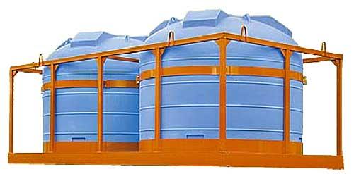 Емкость для перевозки воды и жидких удобрений