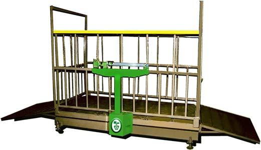 Весы передвижные для взвешивания скота (ВС-1Ш)