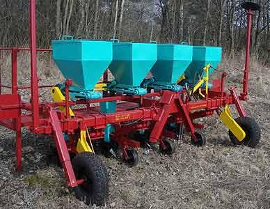 Машина для посадки лука-севка (ленточного высева) (Техмаш)