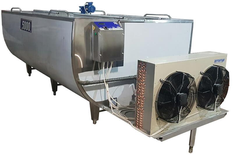 Охладитель молока открытого типа (ванна) (ОМОТ)