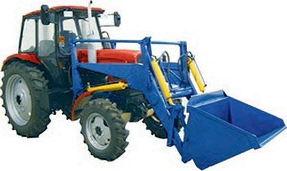 Погрузчик фронтальный гидравлический тракторный (ПГТ-360)