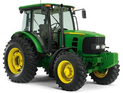 Трактор (John Deere 6D)
