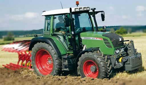Трактор (Fendt 300 Vario)