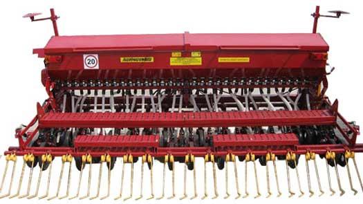 Сеялка зернотуковая механическая (СЗМП-4)