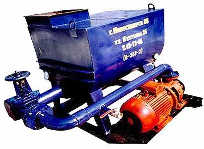 Установка для приготовления жидких кормов и их составных частей (KИП-0,6)