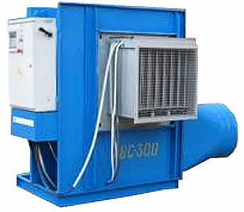 Агрегат вентиляционно-сушильный для досушивания и режимного хранения лука (АВС-300)