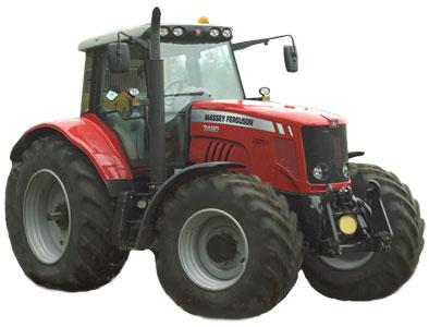 Трактор (MF 7400)