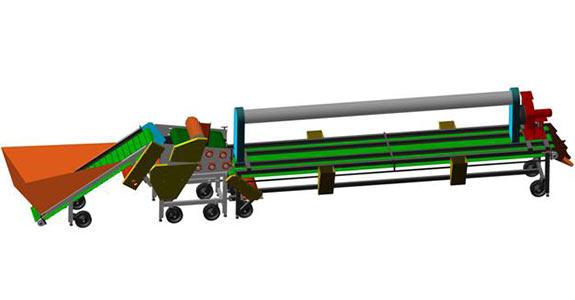Линия для дробления и калибровки чеснока (Техмаш)