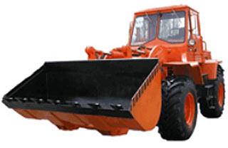 Погрузчик колесный одноковшовый фронтальный (ОрТЗ-156ТПК)