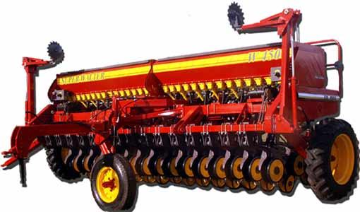 Сеялка для зерновых и мелких семян (Super Walter W 4500)