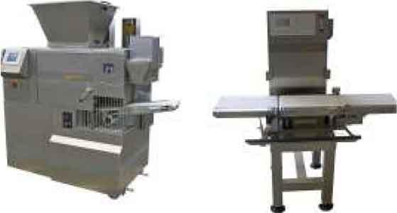 Тестоделитель вакуумно-поршневой автоматический с ленточными весами (Soca ATT)