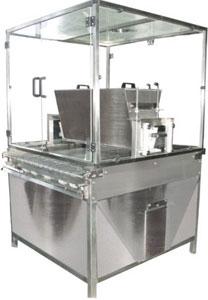 Машина обсыпки кондитерских изделий сахарной пудрой (АК-0981 Strew-200)