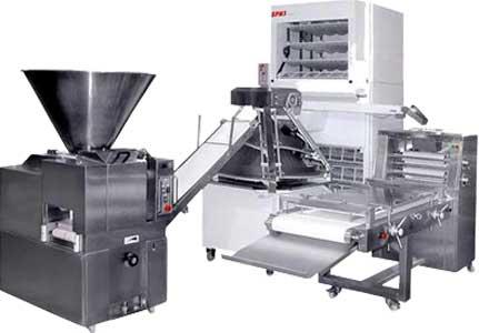 Линия производства заготовок хлебобулочной продукции (Восход-3000)