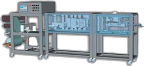 Автомат горизонтальный упаковочный изготавления и фасования в пакеты (Немига-П)
