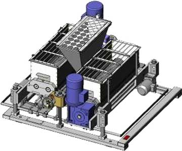 Машина производства пряников на ленту печи (И8-МПК/900)
