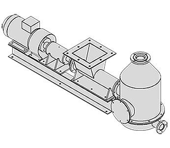 Питатель шнековый мучной (ПШМС-2)