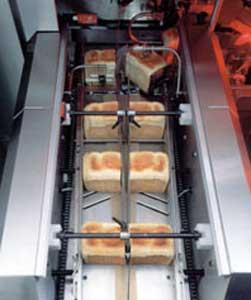 Автомат горизонтальный упаковочный половинок буханок (ST-Series)
