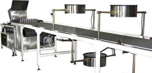Машина охлаждающая транспортерная сетчатая (АК-0993)