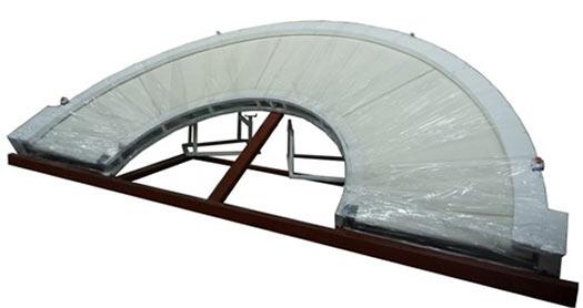 Конвейер поворотный радиусный (К-5П)