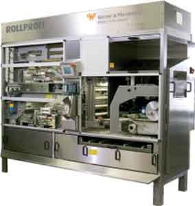 Установка производства булочек с надрезкой (Rollprofi)