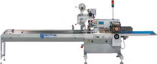 Автомат горизонтальный упаковочный (Бестром-120)