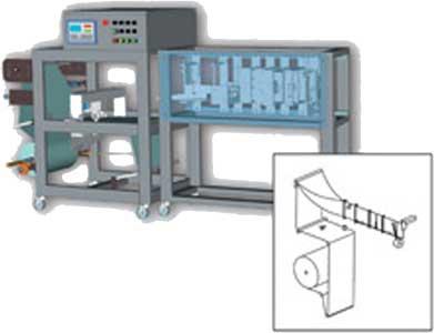 Автомат горизонтальный изготавления пакетов (Немига-ДП)
