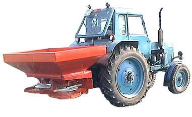 Машина для внесения минеральных удобрений (МВУ-1200)