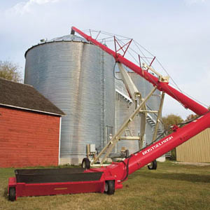 Транспортер зерна шнековый высотный (ТШВ)