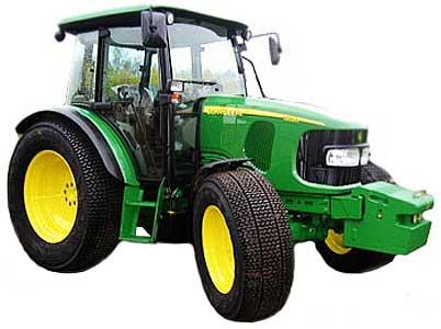 Трактор колёсный (John Deere 5020)