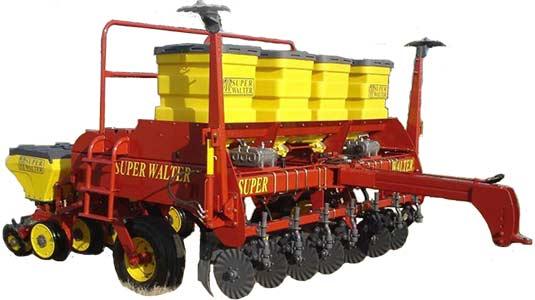 Сеялка прицепная для крупных семян (Super Walter W 1000)