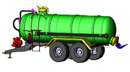 Разбрасыватель жидких органических удобрений (РРД-12)