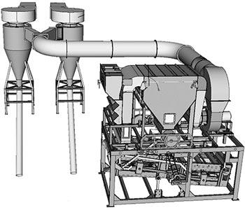 Машина предварительной очистки зерна (МПО-НС)