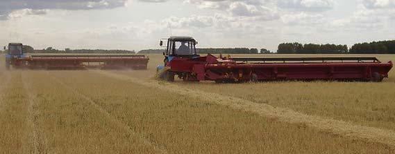 Жатка валковая зерновая (ЖВЗ)