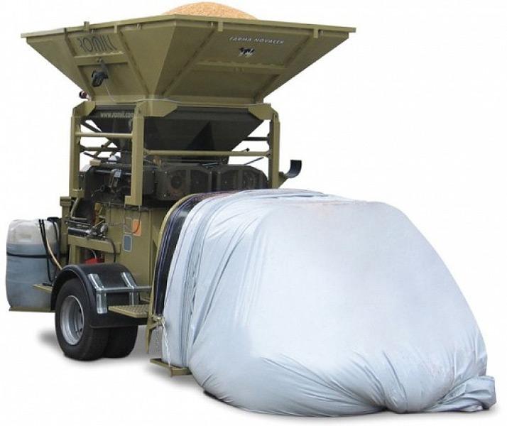 Плющилка мобильная вальцовая влажного зерна (CP)