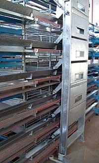 Оборудование клеточное для выращивания перепелов (ОКП)